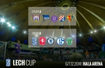 Lech Cup group stage draw