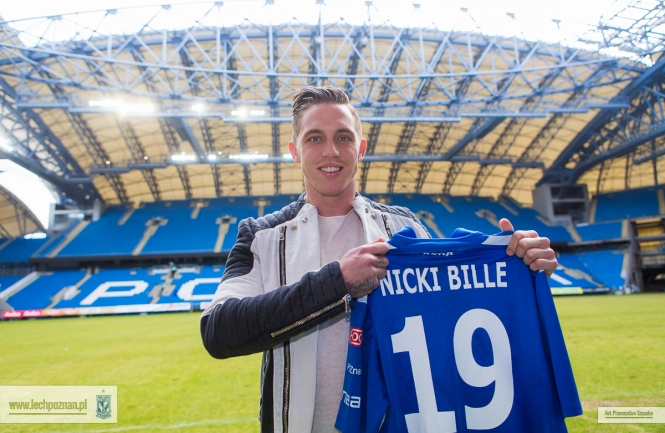 Lech Poznan sign Nicki Bille