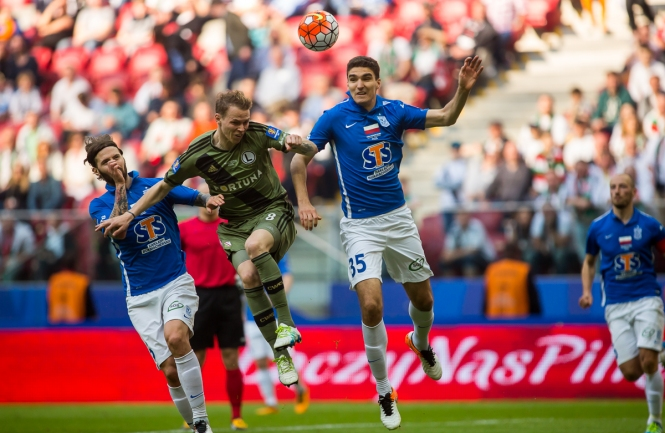 Pi�karze po meczu Lech - Legia