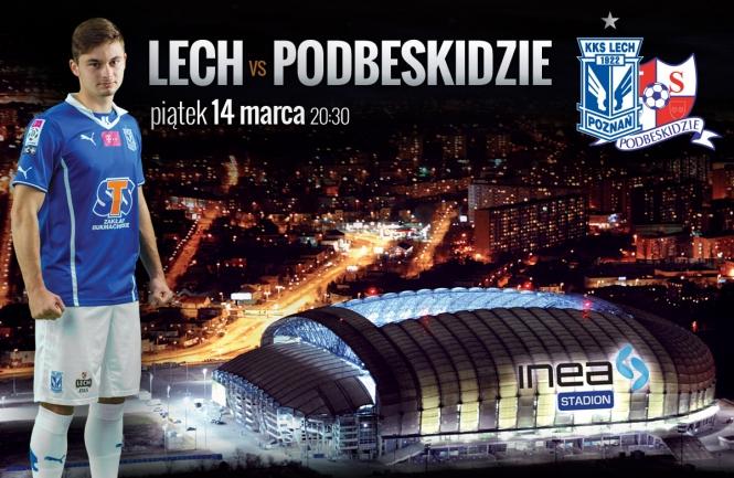 Lech - Podbeskidzie 14 marca. Masz ju� bilet?