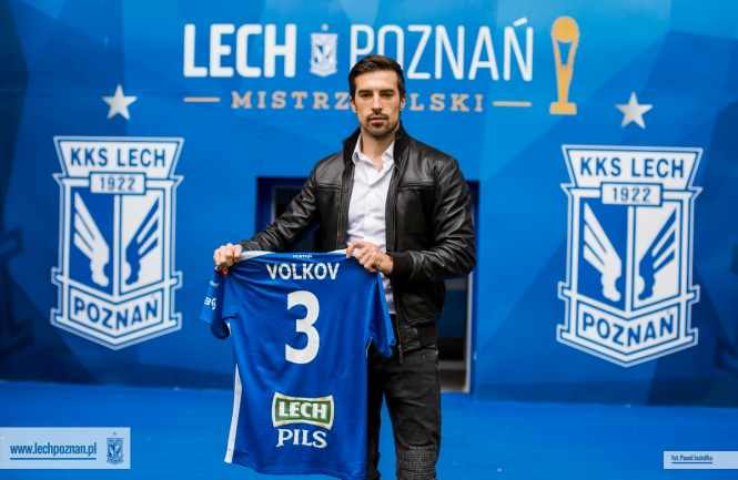 Vladimir Volkov joins Lech Poznan
