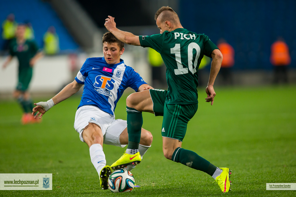 Lech Pozna� - �l�sk Wroc�aw 2:0