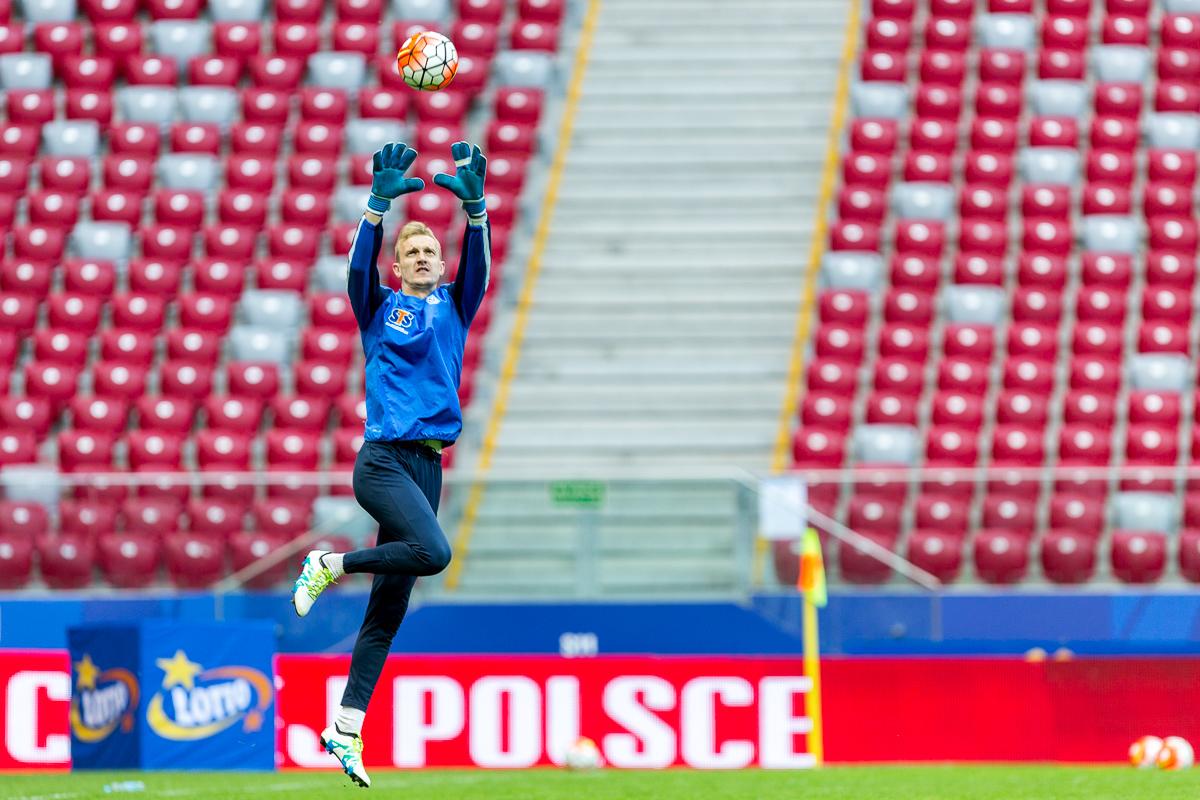 Trening przed fina�em Pucharu Polski