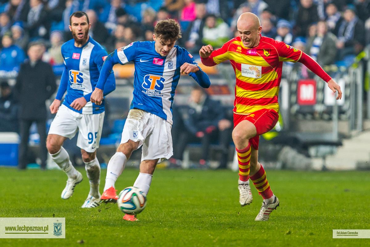 Lech Pozna� - Jagiellonia Bia�ystok 2:0