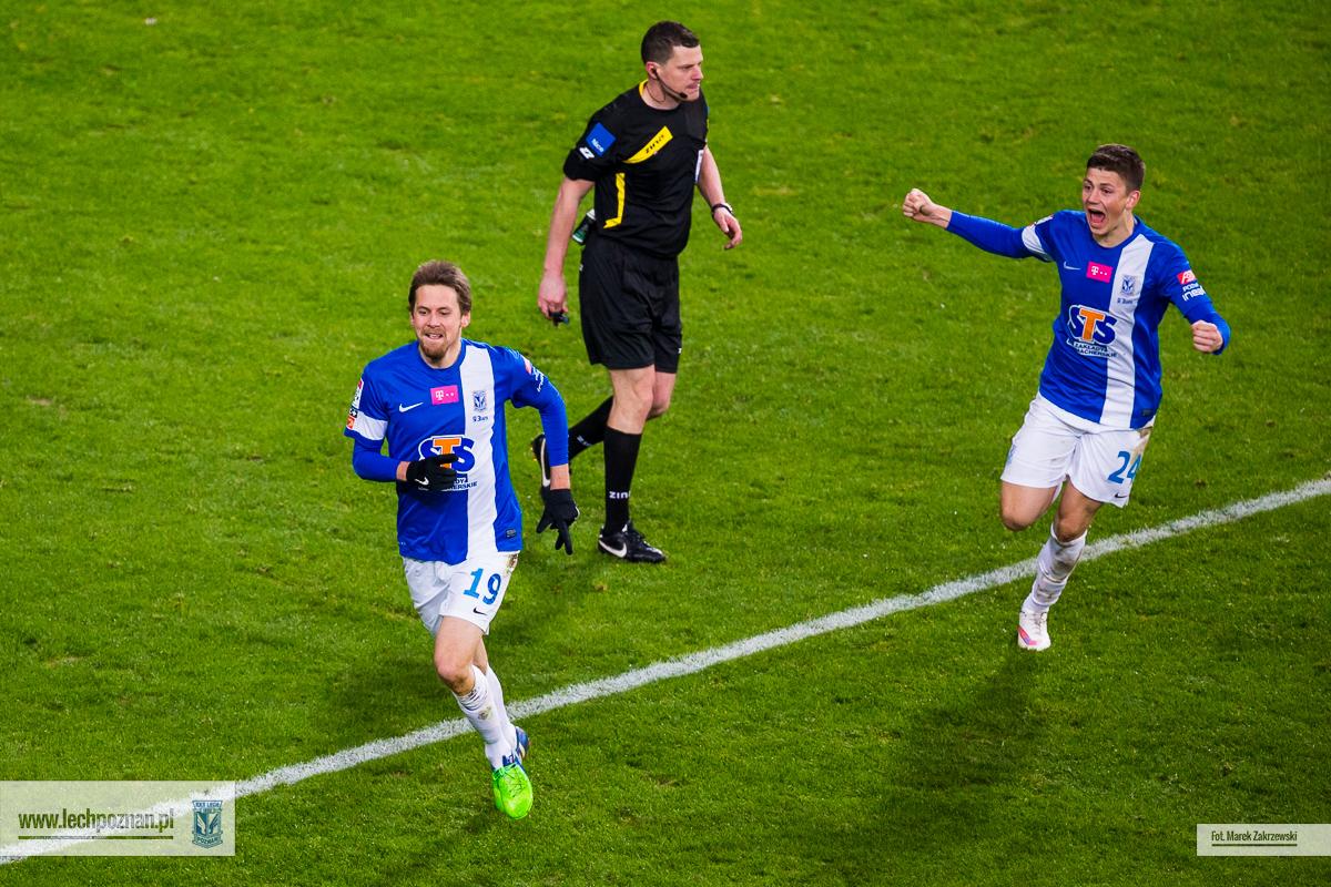 Lech Pozna� - Legia Warszawa 2:1