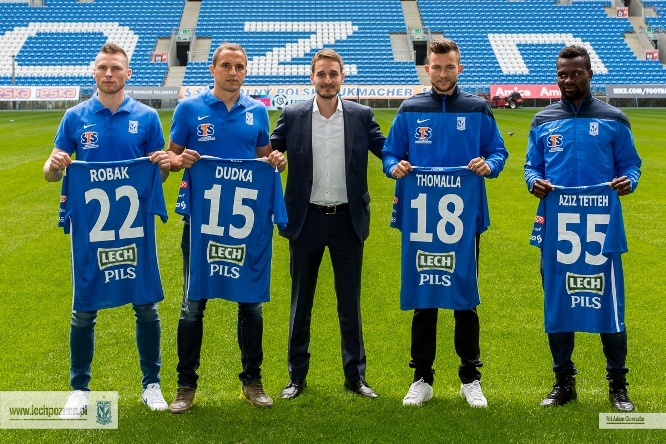 The new players have been presented