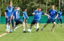Mi�dzy treningami mecz Polak�w