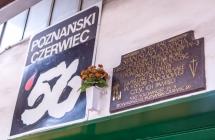 Kolejorz pami�ta o bohaterach Pozna�skiego Czerwca '56