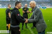 Trenerzy po meczu Lech - Cracovia