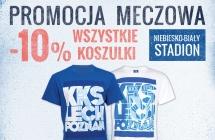 Stadion w barwach - koszulki 10% taniej