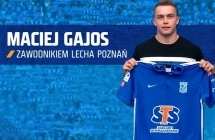 Maciej Gajos zawodnikiem Lecha