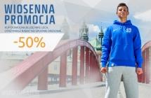 Wiosenna promocja: spodnie Nike 50% taniej