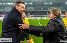 Trenerzy po meczu Piast - Lech
