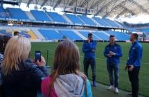 Zwied� INEA Stadion z pi�karzami